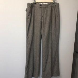 Banana Republic brown wool blend pants size 10.NWT